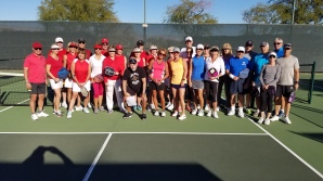 Inter-club match with Indian Palms late in February, 2018